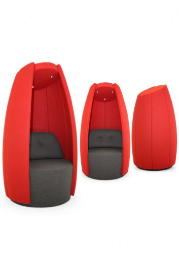 SEQUESTER - Bluetooth Audio Seating Pod